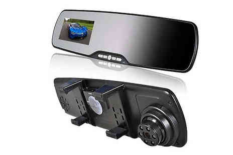 Zip Gadgets - Rear View Mirror Car Camera - Save 64%