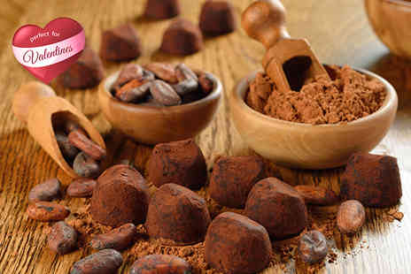 The Cocoa Box - Two hour Valentines Day chocolate truffle making course for 1 including a chocolate Martini for 2 - Save 0%