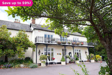 Farthings Hotel - One night stay for two in Somerset - Save 59%