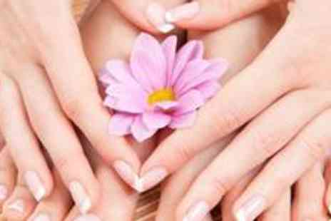 Salon 481 - Luxury manicure and pedicure with massage, paraffin wax and French polish for hands and feet - Save 73%
