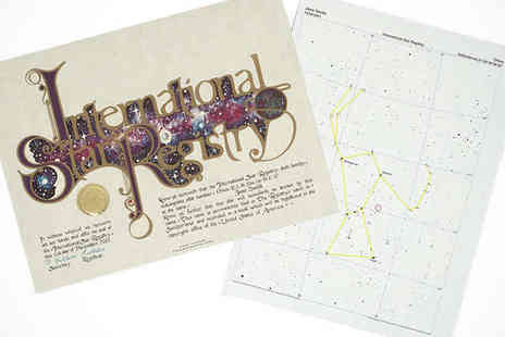 Name Your Own Star - Name a Star Gift Package - Save 53%