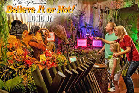 The London Pavilion - Two Tickets to Ripleys Believe It or Not - Save 50%