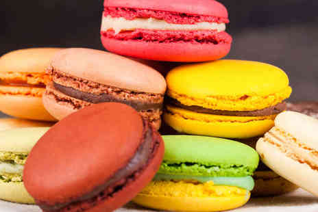 The Dessert Counter - 12 Luxury Macaroons Delivery Not Included - Save 55%