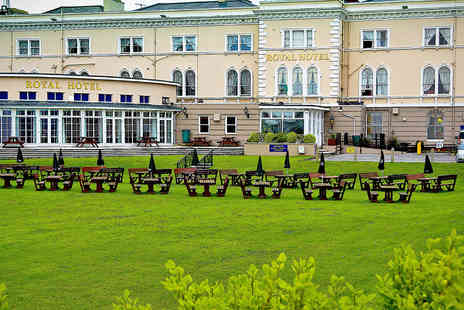 The Royal Hotel  - Seaside Dining Break in Beautiful Somerset - Save 46%