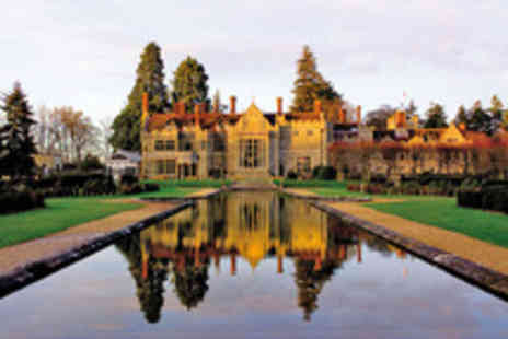 Hand Picked Hotels  - Grand New Forest Escape for Two with Three Course Dining - Save 46%