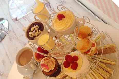 Honey Bees Cakes - Afternoon Tea For Two - Save 0%