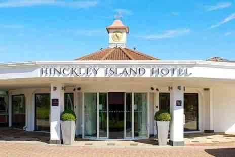 Hinckley Island Hotel - One Night stay For Two With Breakfast, One Dinner and Wine - Save 0%