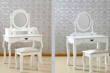 Sonic Online - Antique Style Dressing Table - Save 42%