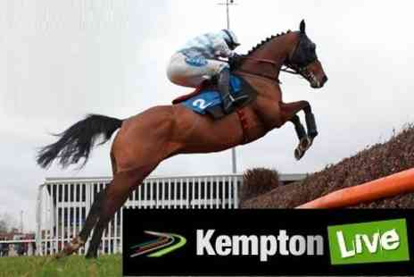 Kempton Park Racecourse - Choice of  Two Live Summer Music and Racing Events With Former X Factor Finalistsfor £6.90  - Save 57%