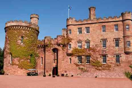 Dalhousie Castle - Overnight  Scottish Castle Escape with Meals & Wine - Save 42%