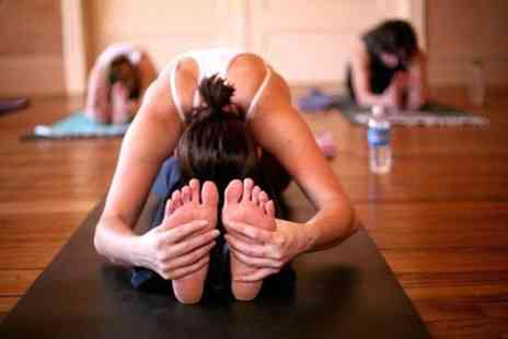 Fitness on Fire - Five hot yoga classes with fitness mat provided - Save 72%