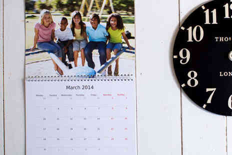 Huggler - Double Page A3 Calendar - Save 75%