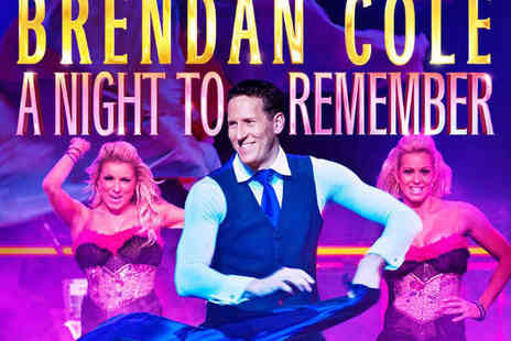 Sheffield City Hall - Zone A or Zone B Ticket to Brendan Cole A Night To Remember - Save 35%