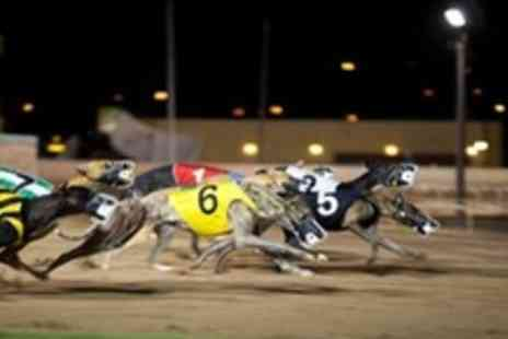Kinsley Dogs - Night of Greyhound Racing For Four With Meal and Drink - Save 65%