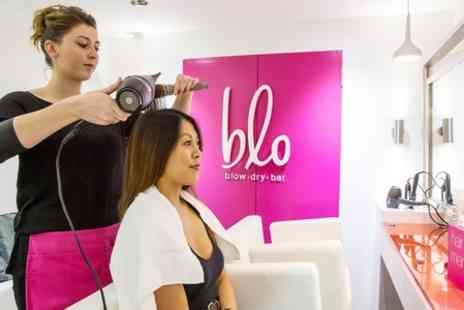 Blo - Bridal Trial or Up Do Styling Blow dry  - Save 47%