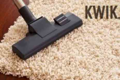 Kwikjet - Cleaning For Three Carpets - Save 74%