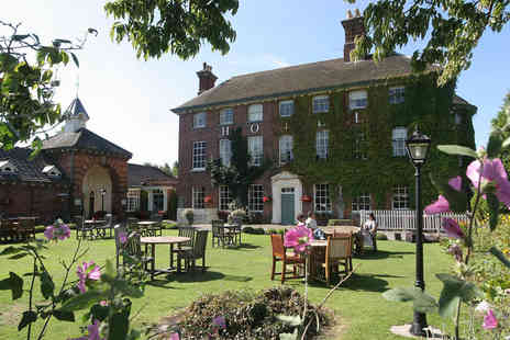 The Mytton and Mermaid - One night stay for two including breakfast - Save 45%