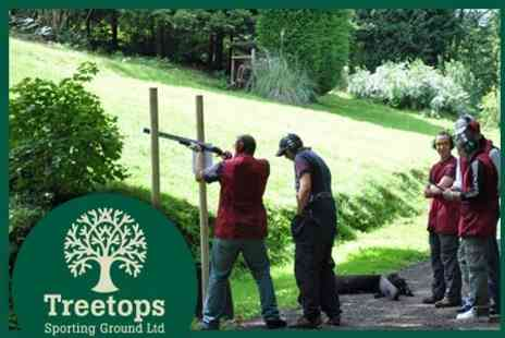 Treetops Sporting Ground Limited - Airgun Shooting Experience Including Lunch for Two for £20 - Save 53%