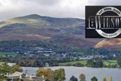 The Wilson Arms - Two Night Lake District Break For Two With Three Course Dinner, Breakfast, and Wine - Save 52%