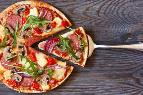 Paolos Pizzeria - Italian meal for 2 including a main & glass of wine or Peroni each  - Save 56%