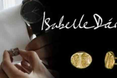 Isabelle Dario - Gold Plated Cufflinks - Save 61%