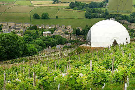 Holmfirth Vineyard - Vineyard Tour and Wine Tasting with Brunch, Afternoon Tea, or Lunch Options for Two  - Save 50%