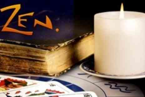 The Zen Shop - Thirty Minute Tarot Reading - Save 60%