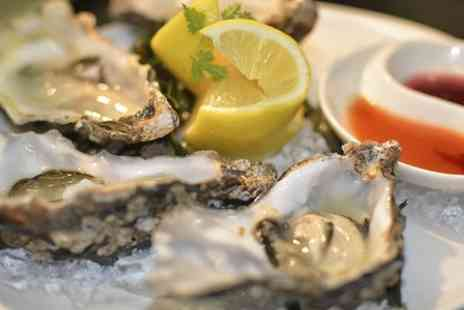 Chamberlains Restaurant - Oysters For Two With Prosecco or Champagne  - Save 33%