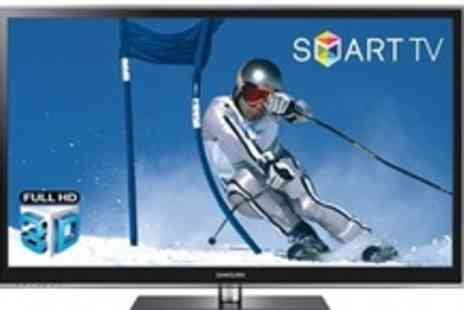 "PRC Direct - 51"" Samsung 3D HD Plasma TV plus five year warranty - Save 45%"