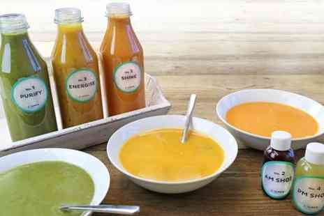 Soulmatefood - Three Day SoulmateFood Soup and Supershot Diet  - Save 60%