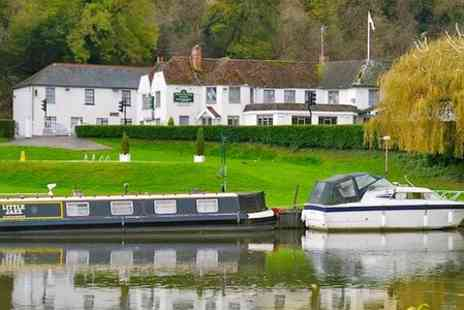 Shillingford Bridge Hotel - One Night stay For Two With Afternoon Tea and Prosecco - Save 44%
