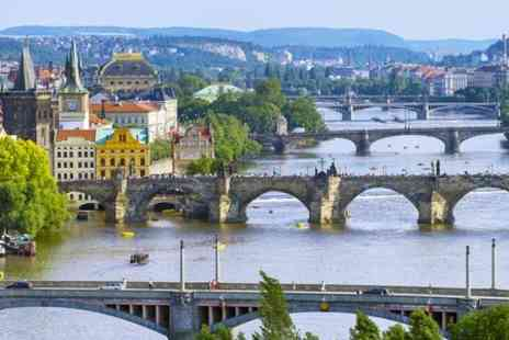 Hotel Duo Praha - One Night stay For Two With Breakfast, Pool and Sauna Access and Late Check Out  - Save 0%