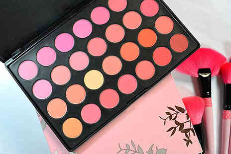 Chazooga - 28 Colour Blush Palette - Save 58%