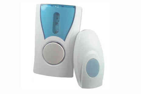 Afrapoco - Digital Wireless 32 Chime 100M Range Doorbell - Save 50%