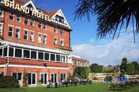 The Grand Hotel - Wonderful Two Night Coastal Stay with Breakfast - Save 55%