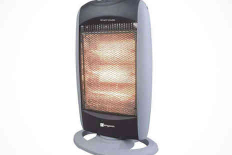 Saproducts -  Portable Halogen Electric Heater - Save 60%