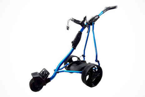 Games & Fitness - Hillman iKart or Hillman X-Car Electric Golf Trolley, Free Delivery - Save 56%