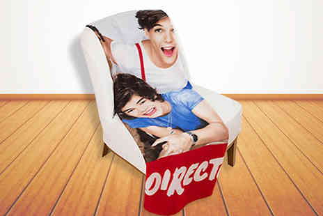 Divinity Fashion - One Direction Fleece Blanket; let fans snuggle up with the boys  - Save 55%