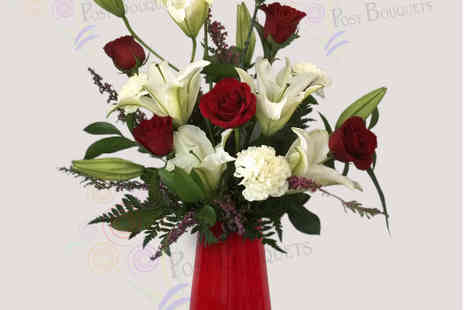 Posy Bouquets - Love Light Valentines Bouquet - Save 30%