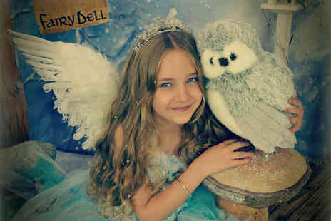 Fairy Dust Pictures - Snow fairy photoshoot for up to Four children and 5x7 print  - Save 82%
