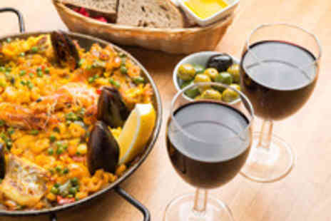 Jamon Jamon - Paella or Four Tapas Dishes to Share with Sides and Cava   - Save 45%