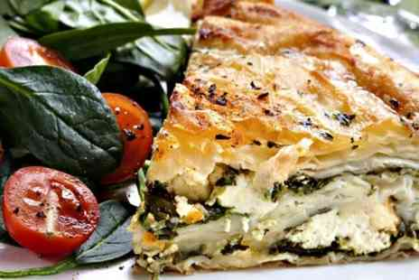 Filomania - Quiche or Pie With Salad  - Save 0%