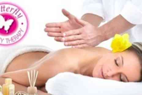 Butterfly Beauty Therapy - Pamper Party for Four With Choice of Two Treatments Each Plus Bubbly and Chocolates - Save 61%