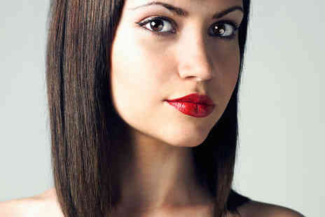 Fresh Hair & Beauty - Haircut with Half Head Highlights or Semi Permanent Colour OR Brazilian Keratin Blow Dry - Save 63%