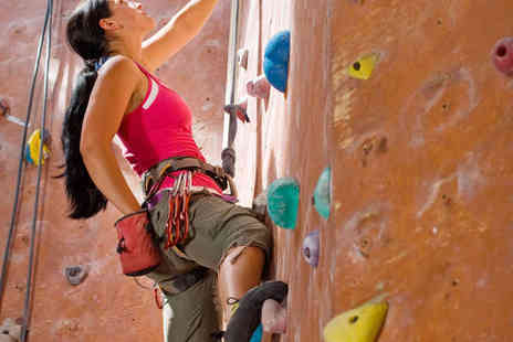 Energised - Climbing Session for Two or Four Adults, or Junior Rock Climbing Course for One or Two Children - Save 50%