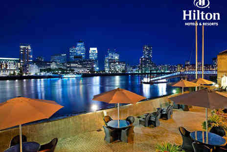 Hilton London Docklands Riverside Hotel - All You Can Eat Buffet for One - Save 41%