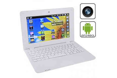 Top Tabs - 10.1 Inch Android Netbook - Save 68%
