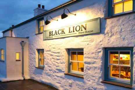 Black Lion Inn - Two Dinner & Wine for two - Save 45%
