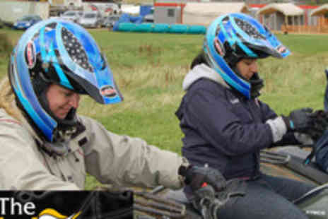 Elsham Activity Centre - Quad biking and air pistol shooting experience for one - Save 63%