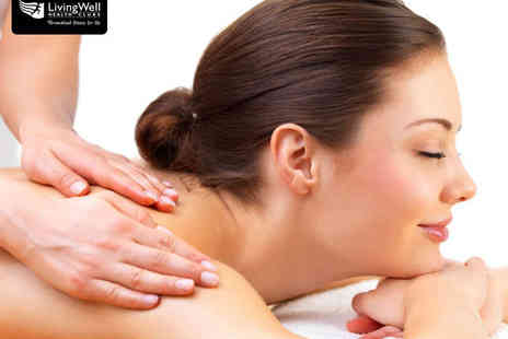 LivingWell - Elemis Facial with Back, Neck, and Shoulder Massage and Spa Access for One - Save 44%